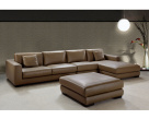 Lexus Corner Sofa and Footstool