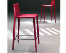 Linda Bar Stool - Red Leather