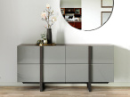 Linea 4 Drawer Sideboard