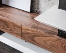 Link Walnut TV Unit