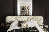 Marlon Bed with Upholstered Headboard