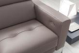 Matteo Italian Corner Sofa - Armrest View