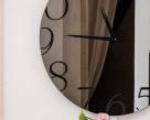 Moment Clock Mirror - Close-Up