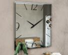 Moment Clock Mirror - Square