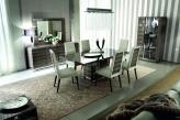 Monaco High Gloss Dining Chairs