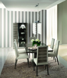 Monaco Extending Dining Table - Matching Chairs