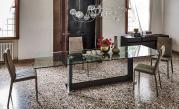 Monaco Dining Table - Dark Oak Base