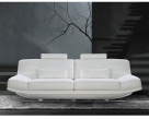 Noir Leather Sofa