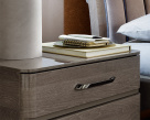 Nora VIP Nightstand Gloss Finish and Handle