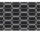 Patio Black Rug