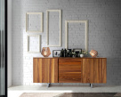 Plus Walnut Sideboard