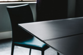 Premier Drive Glass Extendible Dining Table