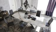 Premier Keramik Dining Table - Top View