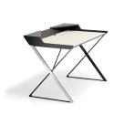 QWERTY Desk - Stainless Steel Frame