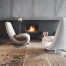 Ricci Designer Chaise - Closed
