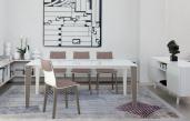 Senso Extending Glass Dining Table - Bontempi
