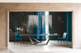 Skorpio Keramik Dining Table - Ardesia Side