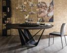 Skorpio Wood Round Dining Table