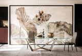 Skorpio Glass Dining Table
