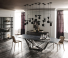 Skorpio Keramik italian Designer Dining Table