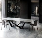 Skorpio Keramik Dining Table - Cattelan Italia