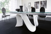 Snake Extending Dining Table - Base View