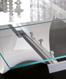 Snake Extending Dining Table - Mechanism View