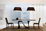 Snake Extending Dining Table - Side View