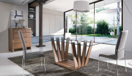 Sticks Dining Table - Lifestyle