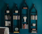 Swing Tall Bookcase - Wall Mounted