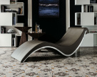 Sylvester Italian Chaise Lounge