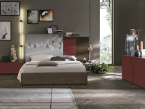 Athena Bedroom Range In Red