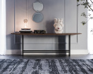 Trevi Wood Top Console Table