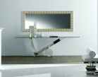 Valentinox Console Table - Stainless Steel