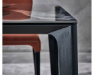 Versus Square Dining Table - Close Up