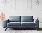 Vivid Fabric Sofa - 3 Seater