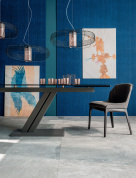 Zeus Drive Glass Dining Table