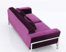 Rouche Designer Sofa - Back