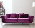 Rouche Modern Sofa - Front View