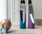 Wedge Floor Standing Mirror