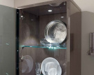 Ayla 1 Door Cabinet with Built-In LED Light