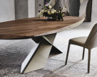 Tryon Designer Wood Dining Table