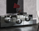 Paramount Fume Glass Sideboard