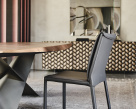 Italia Leather Dining Chair