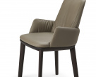 Belinda Carver Leather Dining Chair