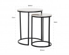 Lexi Side Table Dimensions