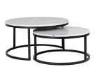 Lexi Round Marble Coffee Table