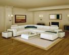 Cosmo Leather Corner Sofa  - Living Room