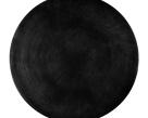 Onyx Round Coffee Table - Black Aluminium Top
