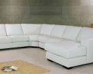 Archie Modern Modular Leather Corner Sofa